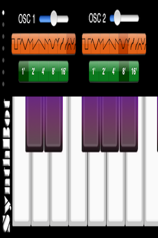 iphone screenshot of Synthbot